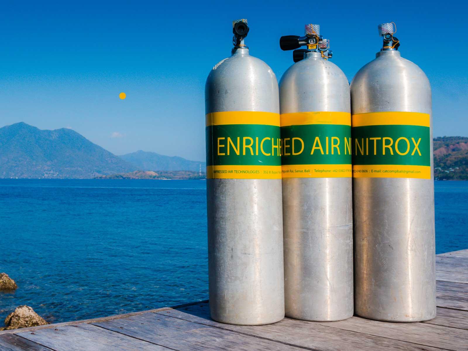 ALBE | Nitrox – Enriched Air Diver (PADI, EDS)