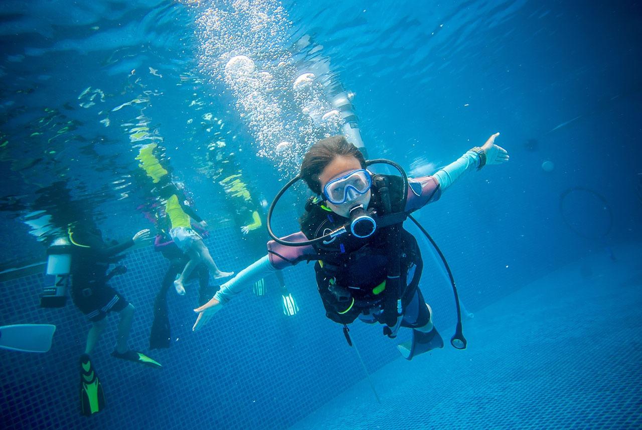 ALBE | Přípravný kurz pro malé potápěče