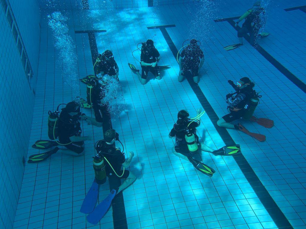 ALBE OWD kurz cvičení na bazéně
