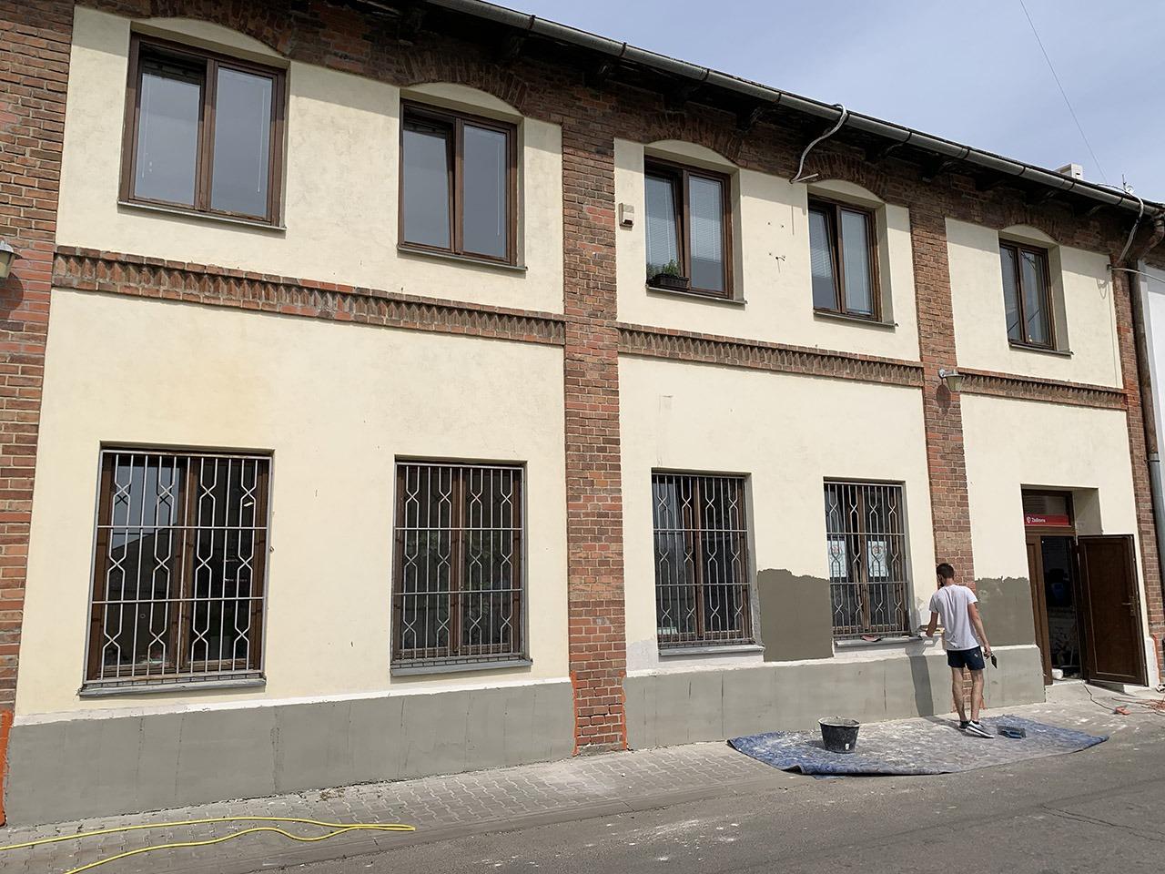 ALBE | Rekonstrukce fasády ALBE Brno