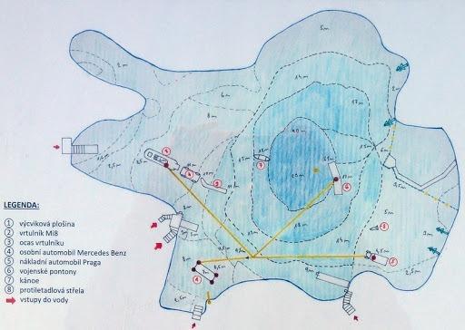 Bořená Hora mapa lom