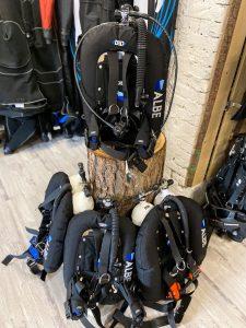 Technická výstroj pro potápění ALBE